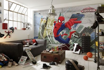 Spiderman superhero wall mural Marvel